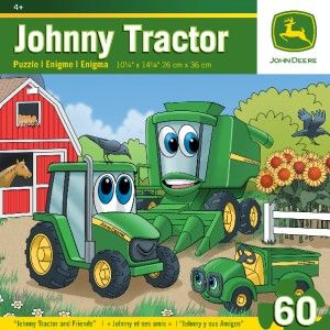 Masterpieces John Deere Johnny Tractor and Friends Kids Jigsaw Puzzle