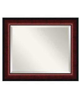 Amanti Art Cambridge Mahogany Wall Mirror   Mirrors   for the home