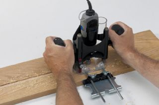 1000 Milescraft Plunger Base Adapt Dremel Rotary Tool to Mini Plunge