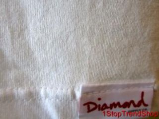 Diamond Supply Co Crooks Mens White s s Shirt Size XL Skate $30