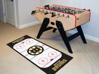 Boston Bruins NHL Hockey Runner Rug Floor Mat