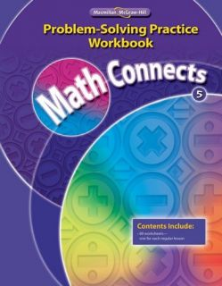 Math Connects Grade 5 Problem Solving Practice Workbook Macmillan