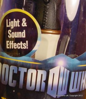 Who Electronic 11th Doctors Sonic Screwdriver Matt Smith New