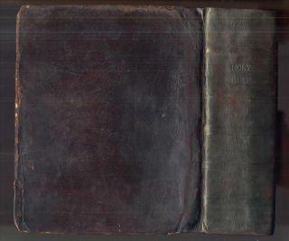 1802 Mathew Carey Illustrated Bible Quarto King James