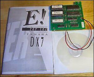 Yamaha DX7 w E Grey Matter Response Mint