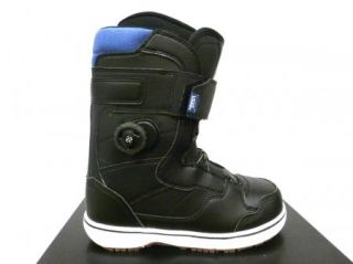 Vans Matlock Mens Boa Snowboarding Boot 2012 Black Blue Sizes 9 10 11