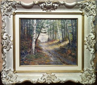 Matthew F Kousal The Bruce Trail Original Oil Painting