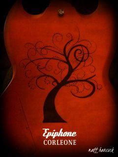 Epiphone Corleone G400 SG Custom Electric Guitar w Hardshell Case