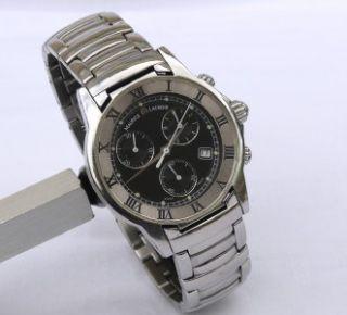 Mans Steel Maurice Lacroix Pontos Chronograph M L Boxed