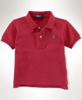 Polo Ralph Lauren Baby Boy Pique Short Sleeve Polo Shirt   Kids