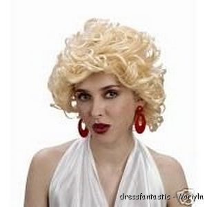 Marilyn Monroe Costume Party Wig Hollywood 50s Movie Star