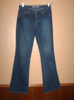 Mavi Molly Flare Low Rise Button Fly Jeans Womens 31 32