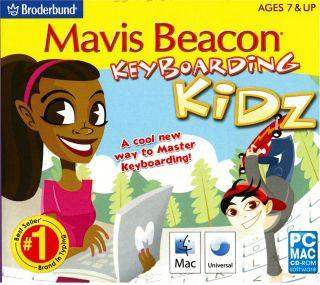 Mavis Beacon Keyboarding Kidz PC Typing Brand New 705381201502