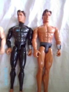 Lot of 3 Max Steel Action Figures Loose