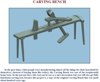 Wood Engraving Wood Carving Design or Sculpture on CD