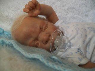 Daisy LITTLE REBORN BABY BOY.M.Moussa Matthew Silicone vinyl FullLimbs