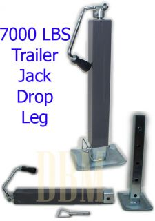 7000 lbs Trailer Boat RV Jack Tongue Drop Leg Weld On