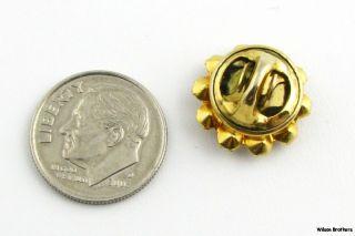 Masonic Vintage Blue Lodge Member Square & Compass Emblem Pin w