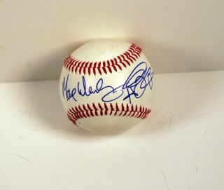 MAX WEINBERG SIGNED AUTOGRAPH BASEBALL W/ SKETCH BRUCE SPRINGSTEEN E
