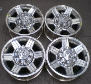 2384 2010 Dodge RAM 2500 3500 17 Factory Alloy OE Wheels Rims 4