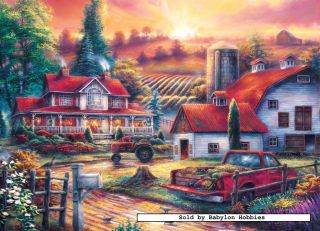 Masterpieces 1000 pieces jigsaw puzzle Chuck Pinson   Home for Dinner