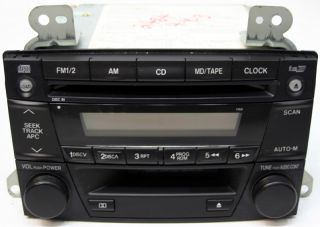 2002 2003 Mazda MPV Factory Stereo Tape 6 Disc Changer CD Player Radio