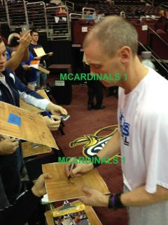 Mavericks Team Signed Autographed Basketball COA Proof Mayo