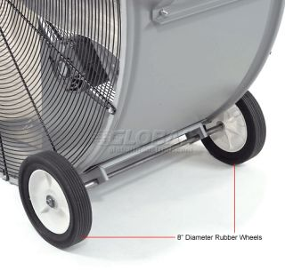 TPI 42 Portable Blower Fan Direct Drive PB42D 1 2 HP 15600 CFM