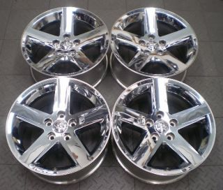 Full set of four (4) wheels from a used 2009 2012 Dodge Ram 1500