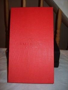 998 Valentino Garavani Swarovski Buckled Sandals Shoes Heels Size 7 5
