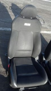 Chevy Cobalt SS Turbo T C Seats Black Leather Suede Style Hot Rod