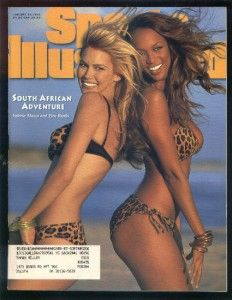 Sports Illustrated Swimsuit 1996 Tyra Banks Mazza