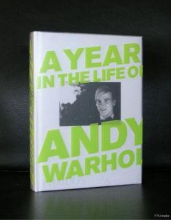David McCabe A Year in The Life of Andy Warhol Mint