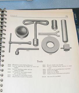 Maytag 1953 Wringer Washer Parts Lists Several Models & Service Tool