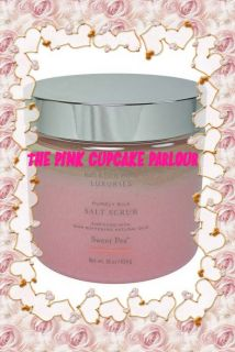 Bath Body Works Luxuries Purely Silk Sweet Pea Scrub