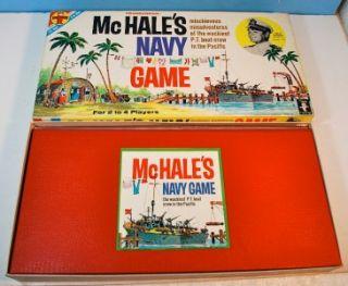 McHales Navy Game Transogram Board Game Vintage 1962