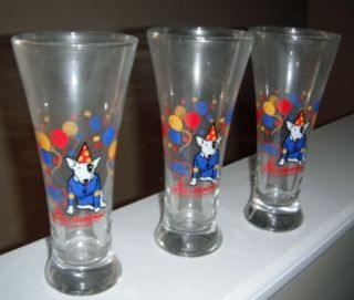 Spuds McKenzie Glasses Bud Light Beer Vintage Collectable