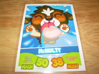 Topps Moshi Monsters Mash Up Card McNulty 50 38