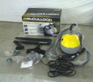 McCulloch Steam Cleaner MC1275 Steamer TADD