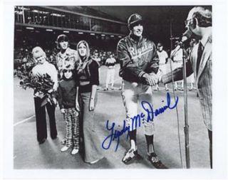 Kansas City Royals Signed Lindy McDaniel