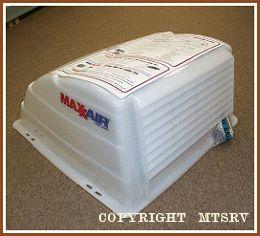 Maxxair Vent Cover Translucent White 1 Pack Brand New Maxx Max Air RV