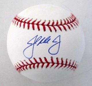 John Mayberry Jr Philadelphia Phillies Autographed MLB Baseball JSA