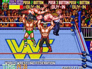 WWE WWF Wrestlefest Superstars Arcade Game EXTRAS