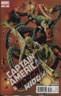 Captain America and Black Widow 639 Marvel Comics
