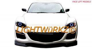 2010 Mazda RX8 Headlight LED DRL Headlights Angel Eyes Demon Eyes Halo