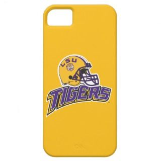 LSU Helmet Right Side   Tigers iPhone 5 Cases