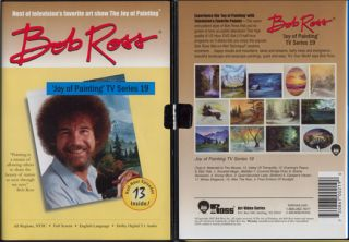 New Bob Ross Joy of Oil Painting TV Series 19 DVD Art