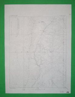 Pioche Panaca Bullionville Nevada 1885 Topo Map