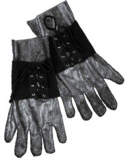 Medieval Renaissance Knight Faux Chain Mail Armor Costume Gloves