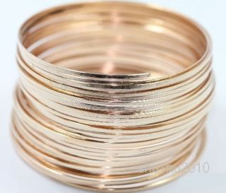 Rose Gold Plated Memory Steel Wire for Cuff Bangle Bracelet 1mm